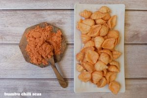 chili seas makanan