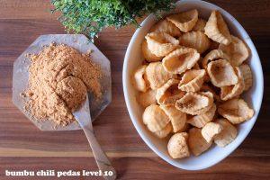 chili pedas level 10 makanan
