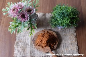 chili granule anchovy