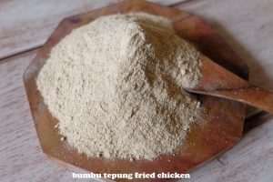 tepung fried chicken (lagi)