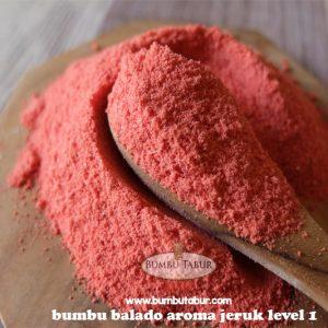 Balado Aroma Jeruk Level 1